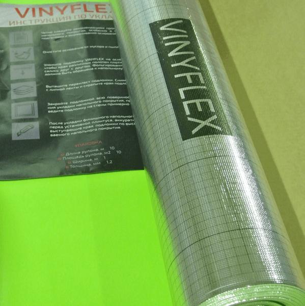 Подложка под виниловые и кварц виниловые полы